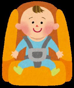 日本では2000年4月からチャイルドシートが義務化された!